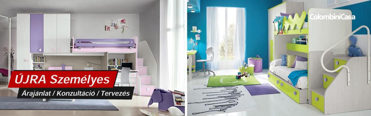 Colombini modern és klasszikus hálószoba bútorok, gardróbok, franciaágyak, komódok, Bono Design
